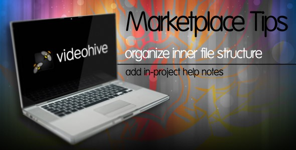 Marketplace tips-Organize inner file structure add in-project help